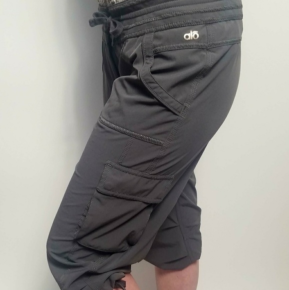 Alo Yoga Pants Jumpsuits Loose Fit Capris Poshmark